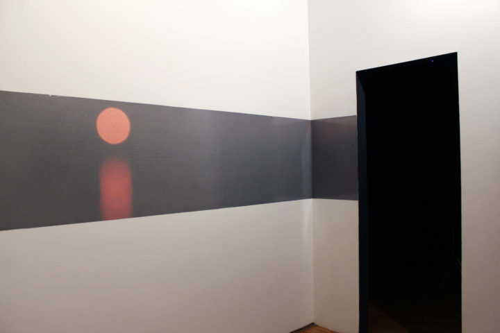 Marco G. Ferrari, Aspect/Ratio Gallery, Chicago, IL, US, 2015.  Installation view of Peer, 2014.