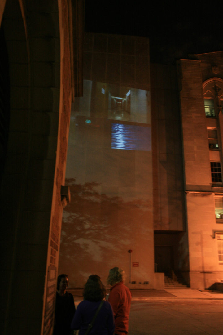 Opening Projection, Surgery - Brain Research Pavilion, University of Chicago, IL, USA, May 11, 2012. General view.