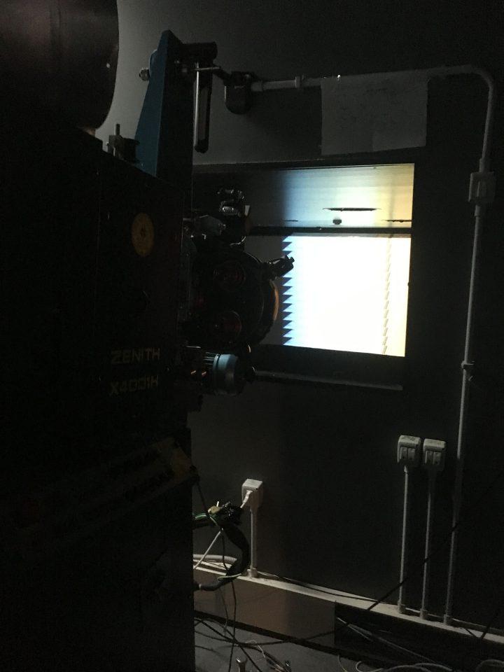 L'alterità e il paesaggio: i film sperimentali di Marco G. Ferrari, Nuovo Cinema Aquila, Rome, Italy, 2017. View of Velodrome, 2012.