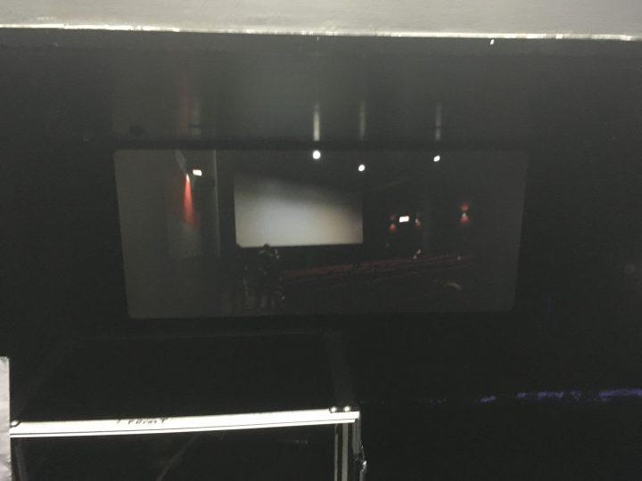 L'alterità e il paesaggio: i film sperimentali di Marco G. Ferrari, Nuovo Cinema Aquila, Rome, Italy, 2017. View of Spazio comune (lavoro in corso), 2017.
