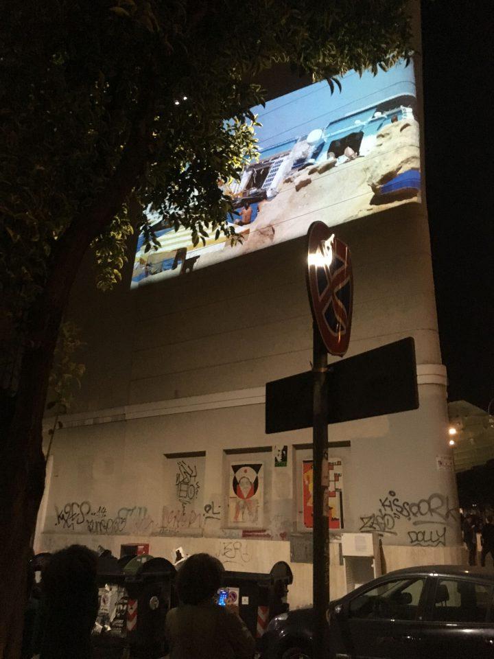 L'alterità e il paesaggio: i film sperimentali di Marco G. Ferrari, Nuovo Cinema Aquila, Rome, Italy, 2017. View of Ferragosto, 2013.