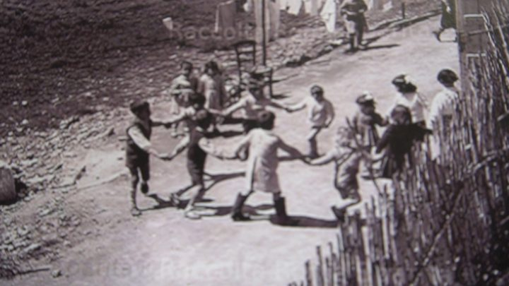 Via Mandrione,archival image.