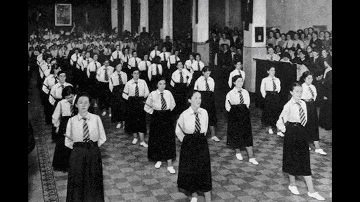 Lavoratrici in lotta-Le operaie della Viscosa di Roma. Archival image.
