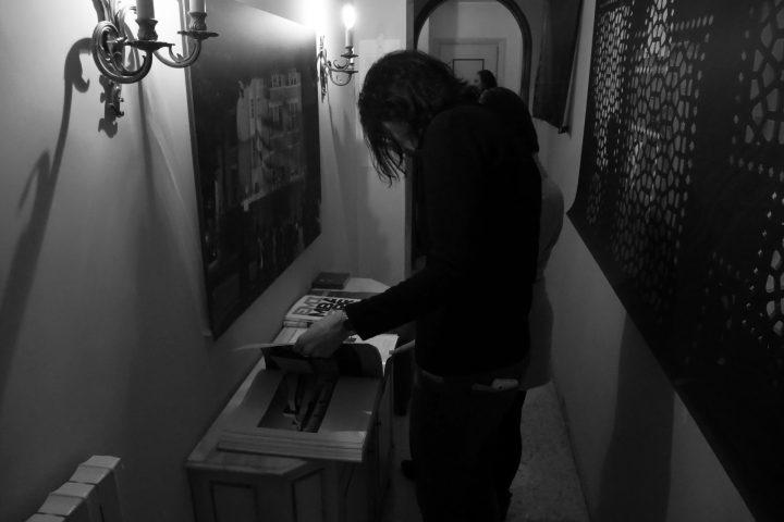 Marco G. Ferrari––Open Studio, 2018, via Gentile da Mogliano 29, Rome, Italy.
