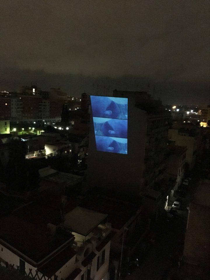 Marco G. Ferrari projection, Marco Asilo: La Casa Ospitale; Home Performances (for the broken hearts), Rome, 2-14-2020, presented by Rigenera.