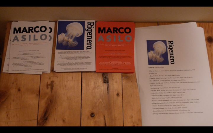 Marco Asilo: La Casa Ospitale; Home Performances (for the broken hearts), Rome, 2-14-2020, presented by Rigenera.