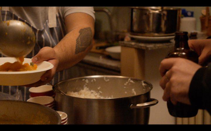 Liryc Dela Cruz's cuisine, Marco Asilo: La Casa Ospitale; Home Performances (for the broken hearts), Rome, 2-14-2020, presented by Rigenera.