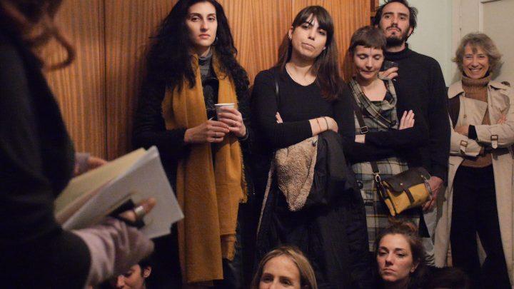 Nefeli Misuraca poetry reading, Marco Asilo: La Casa Ospitale; Home Performances (for the broken hearts), Rome, 2-14-2020, presented by Rigenera.
