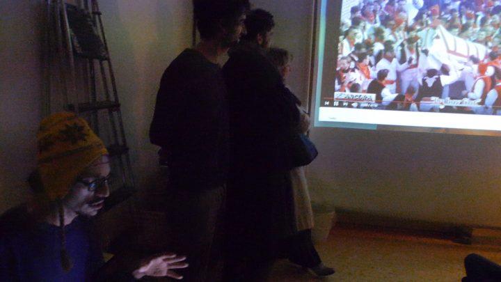 Albert Figurt performance, Marco Asilo: La Casa Ospitale; Home Performances (for the broken hearts), Rome, 2-14-2020, presented by Rigenera.