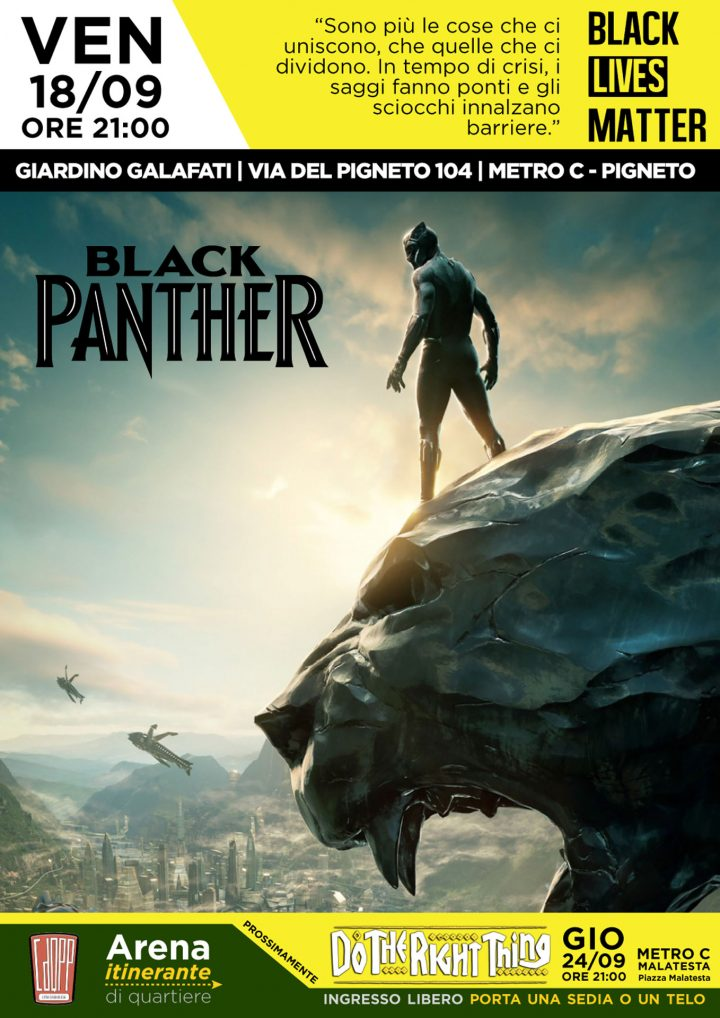 cineforum-exsnia_black-panther_galafati-pigneto-roma_09-18-2020_community-film-screening-program_poster