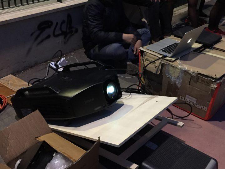 marco-g-ferrari_proiezione-colletiva_04-25-2021_video-projector_giardino-galafati-rome_public-projection-performance_in-pigneto-resistente-quartiere-festa-giorni-liberazione