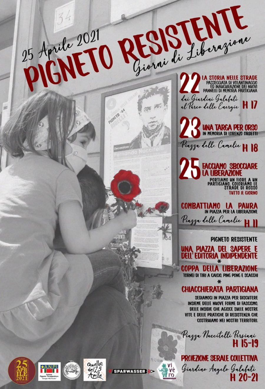 Pigneto Resistente: Quartiere in festa – Giorni di Liberazione