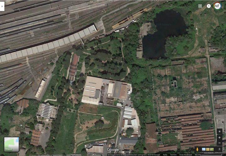 forum-territoriale-parco-energie-lago-bullicante-exsnia-roma-google-map